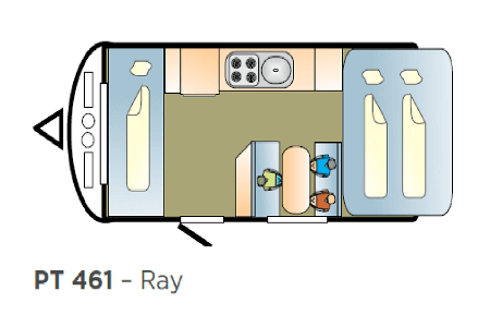400 Series Pop Top Ray Slide out 461